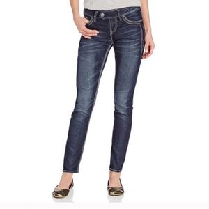 Silver Jeans • Tuesday Mid Rise Skinny Jeans Sz 28
